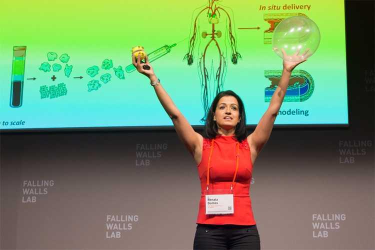 Jornal Campeão: Cientista portuguesa vence prémio de invenções para reparação cardíaca