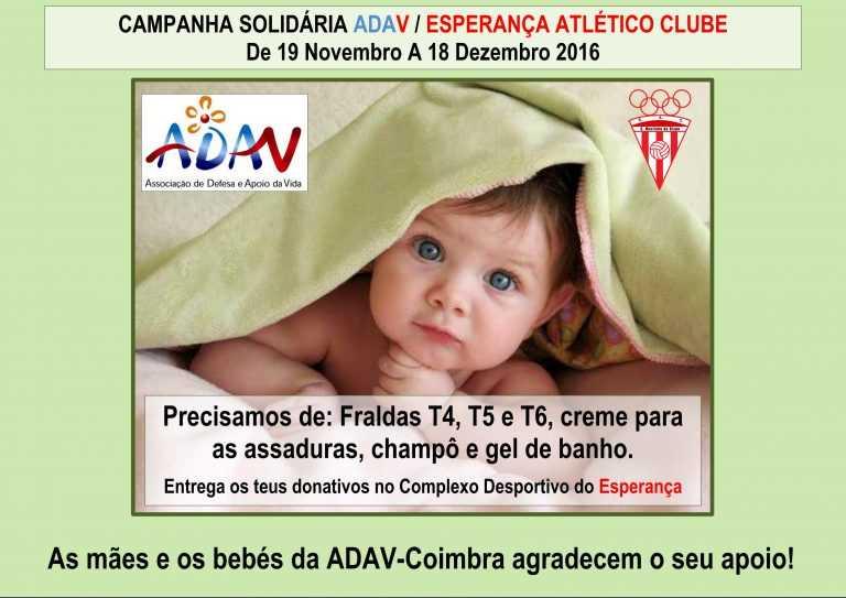 Jornal Campeão: Esperança Atlético Clube promove campanha a favor da ADAV