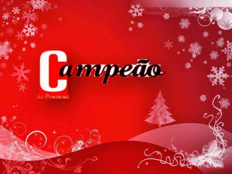 Jornal Campeão: Feliz Natal!