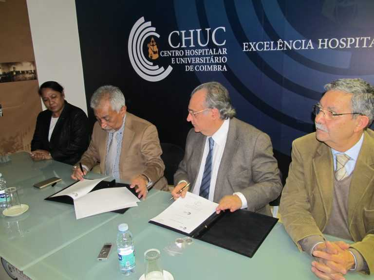 Jornal Campeão: CHUC apoia criação de centro cardíaco em Timor-Leste