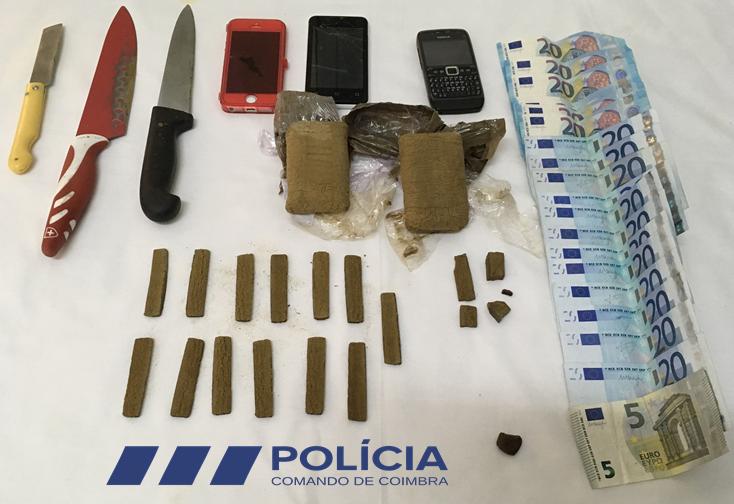 Jornal Campeão: PSP: Dois detidos por tráfico de droga na Figueira da Foz