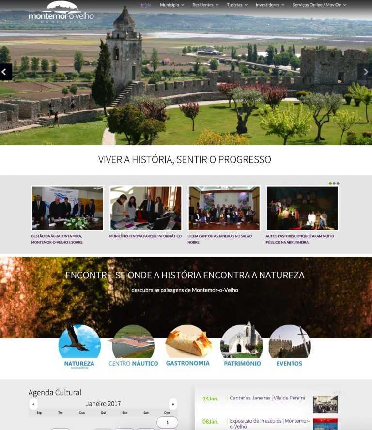 Jornal Campeão: Município de Montemor-o-Velho com novo website