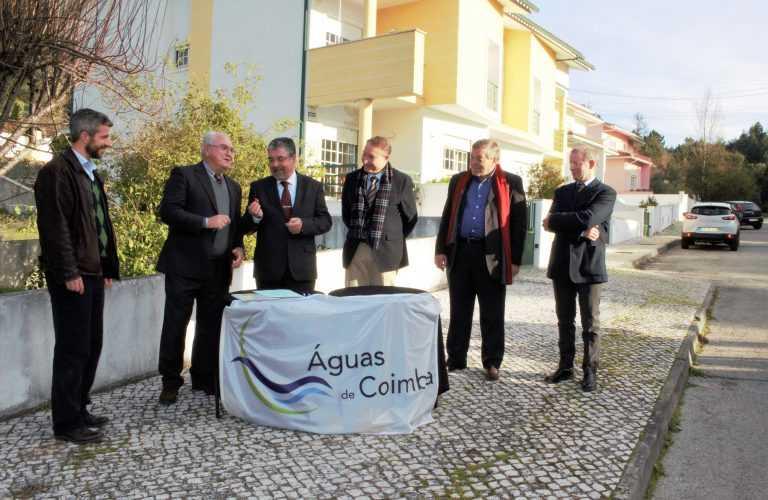 Jornal Campeão: Águas de Coimbra inicia instalação de colector no Bairro da Liberdade