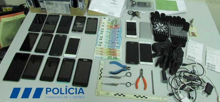 Jornal Campeão: Coimbra: Quadrilha detida pela PSP tinha furtado 18 telemóveis
