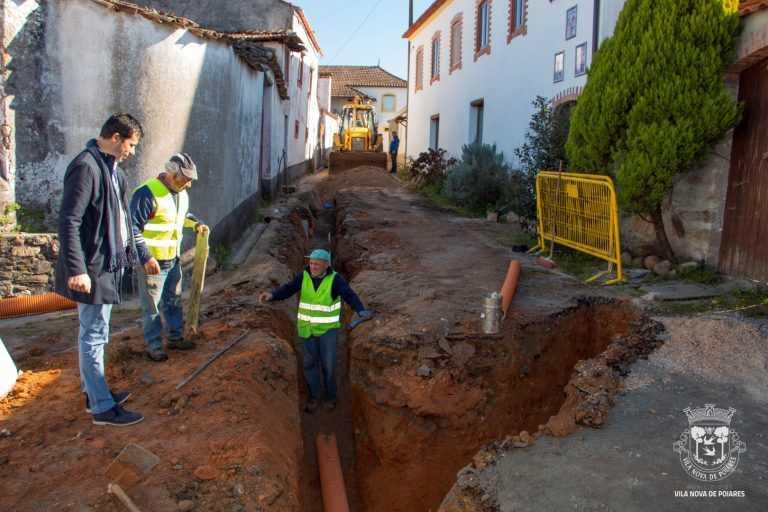 Jornal Campeão: Poiares: Câmara investe dois milhões em saneamento e água