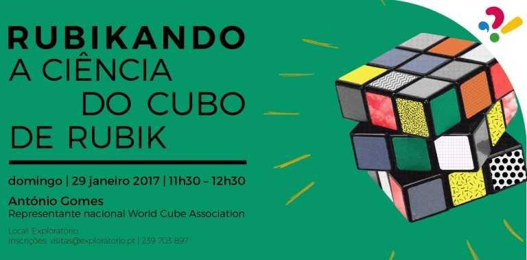 Jornal Campeão: Exploratório com nova actividade sobre o cubo de Rubik