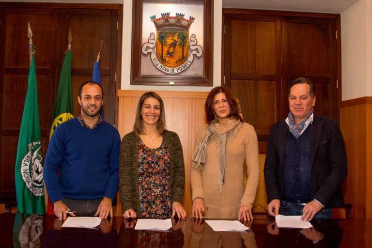 Jornal Campeão: CPCJ's de Poiares, Miranda, Lousã e Penela assinam parceria