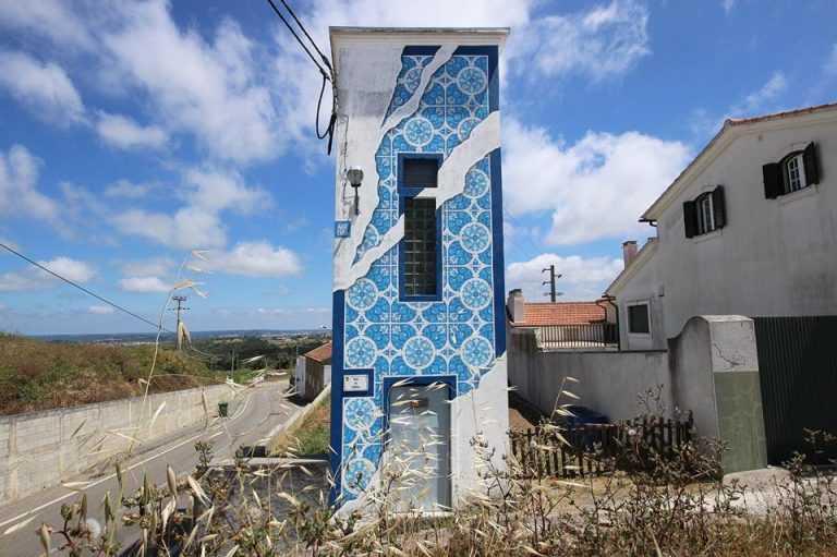 Jornal Campeão: Arte urbana em Abrunheira, Verride e Vila Nova da Barca