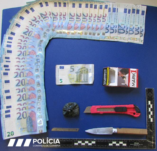 Jornal Campeão: Homem detido por tráfico de droga em Coimbra