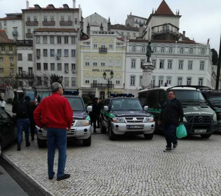 Jornal Campeão: Coimbra: Dispositivo da GNR na Portagem surpreende cidadãos