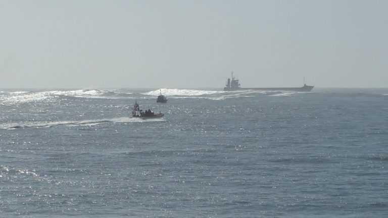 Jornal Campeão: Figueira da Foz: Marinha auxiliou navio na saída da barra