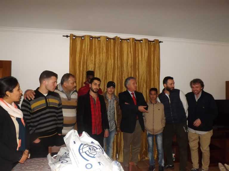 Jornal Campeão: Miranda do Corvo: Fundação ADFP recebeu novo grupo de refugiados