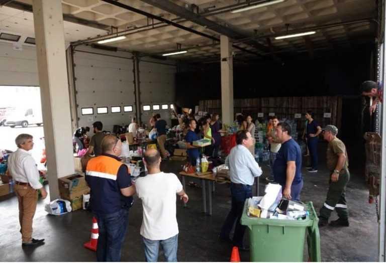 Jornal Campeão: Centro: CCDRC divulga pontos de entrega de donativos