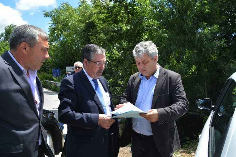 Jornal Campeão: Ponte do Paço: Autarcas reiteram empenho na obra