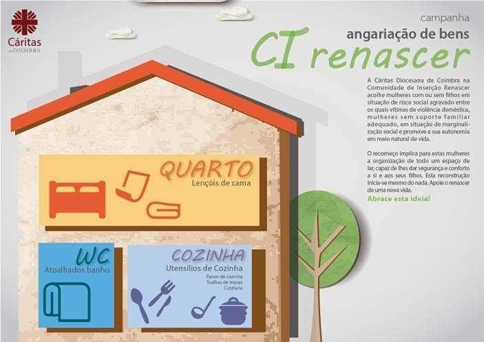 Jornal Campeão: Cáritas promove campanha de recolha de artigos para o lar