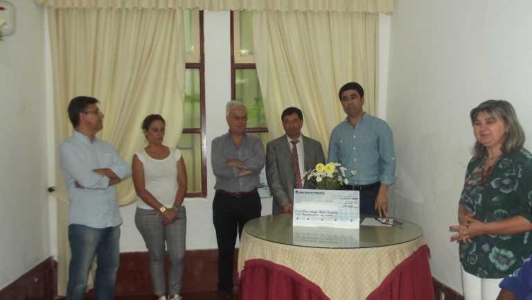 Jornal Campeão: Coimbra: APBC entregou donativo à Casa-abrigo de Padre Américo