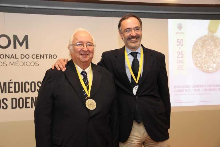 Jornal Campeão: Médicos: Pai e filho distinguidos por longevidade das carreiras