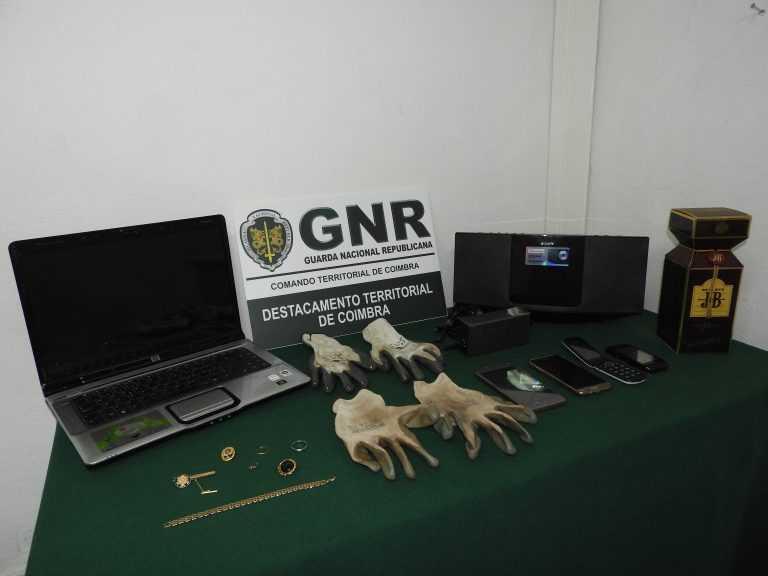 Jornal Campeão: GNR: Detidos em Coimbra suspeitos de assalto em Penacova