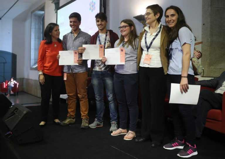 Jornal Campeão: Tábua: Jovens criaram desinfectante a partir de batata e de celidónia