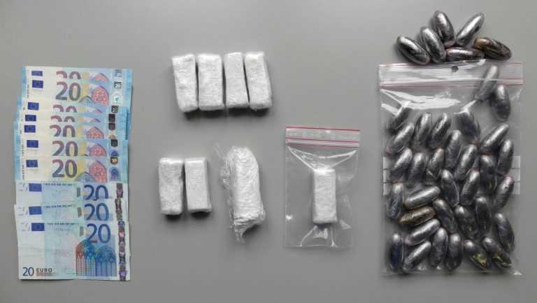 Jornal Campeão: Tráfico de droga: Recluso e uma mulher detidos pela PJ