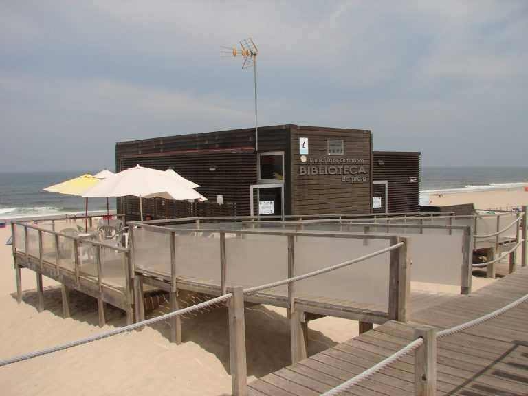 Jornal Campeão: Biblioteca da praia da Tocha está já em funcionamento