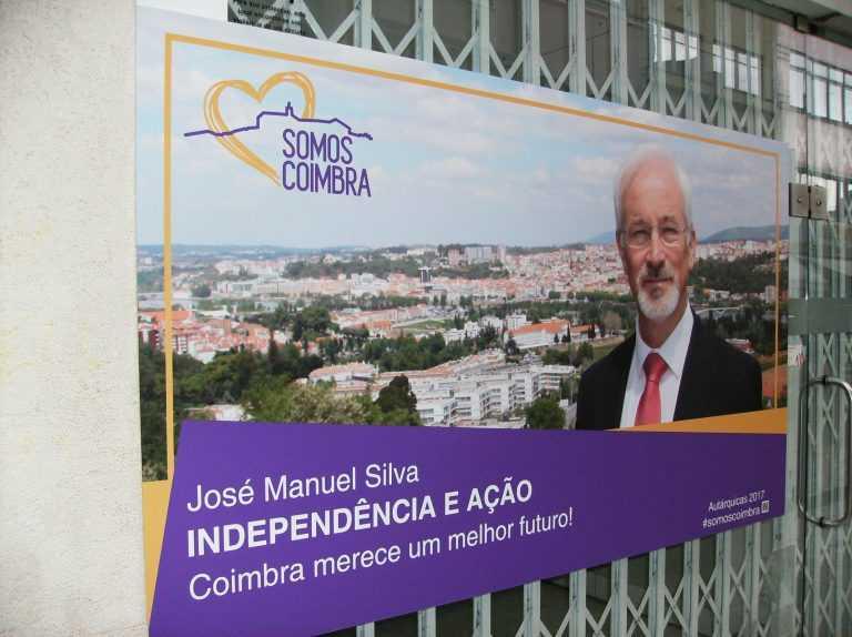 Jornal Campeão: 'Somos Coimbra' diz que supera entraves dos partidos e irá às eleições autárquicas