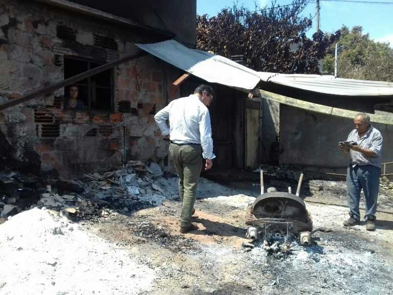 Jornal Campeão: Fogos: CCDRC fez última adjudicação para reconstruir casas destruídas