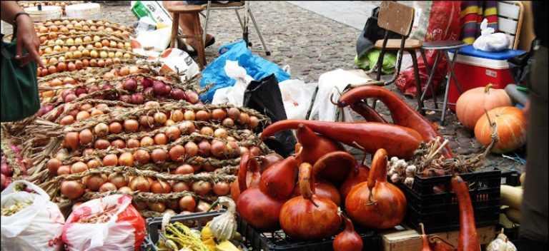 """Jornal Campeão: """"Baixa"""" acolhe artesanato urbano e tradicional feira das cebolas"""