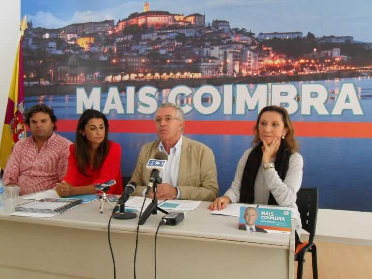 """Jornal Campeão: Autárquicas: """"Mais Coimbra"""" promete melhor cidade para se viver"""