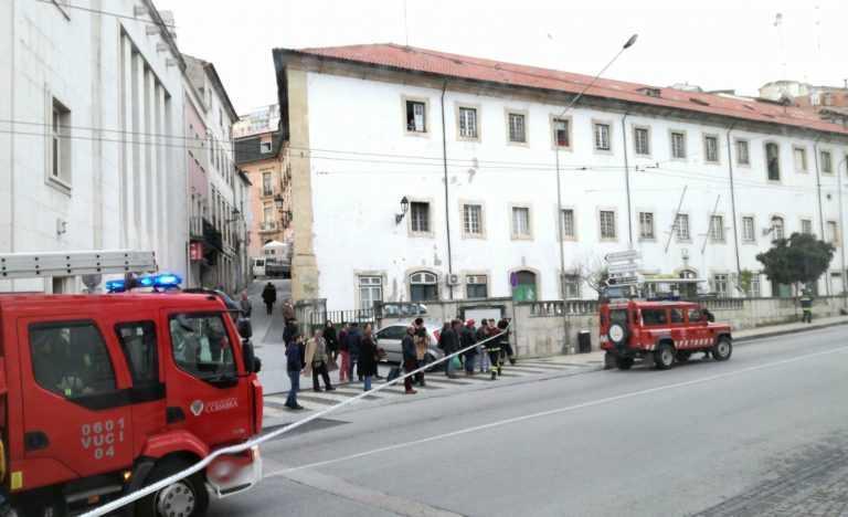 Jornal Campeão: Coimbra: Trânsito cortado junto à Câmara devido a mala suspeita