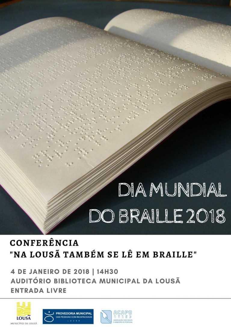 Jornal Campeão: Na Lousã também se lê em Braille