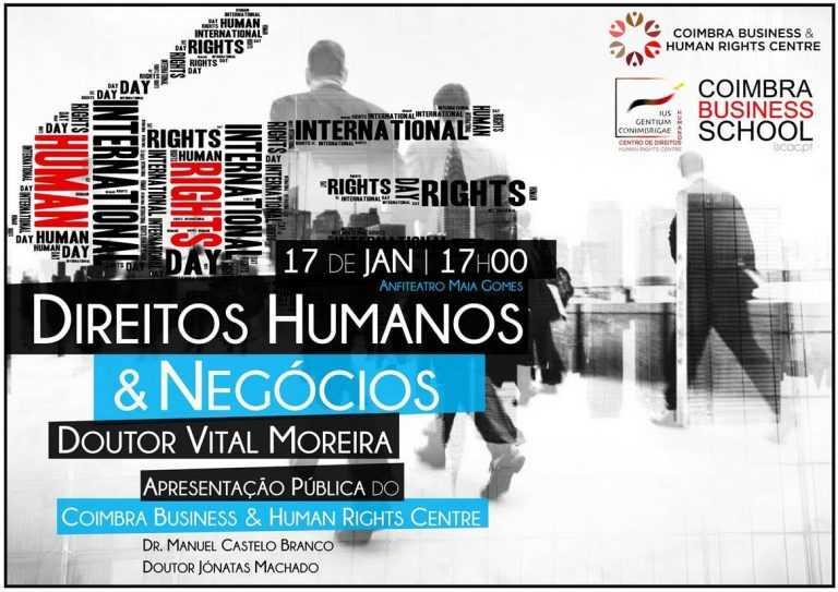 Jornal Campeão: Coimbra: Centro de estudos quer aproximar negócios dos direitos humanos