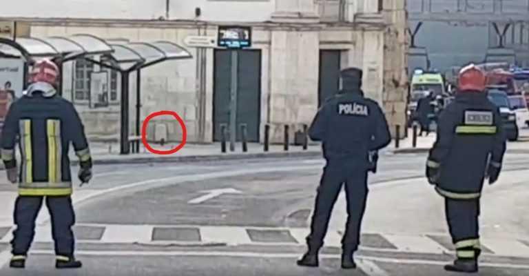 Jornal Campeão: Coimbra: Trânsito a circular, mala suspeita estava vazia