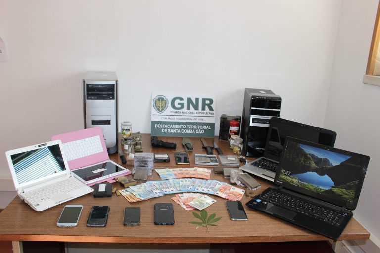 Jornal Campeão: GNR desmantela rede de tráfico de droga que operava na região Centro