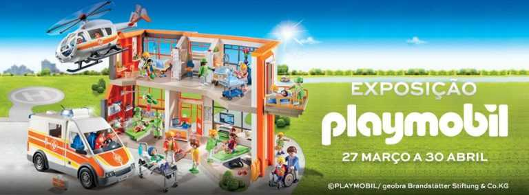 Jornal Campeão: Forum Coimbra recebe exposição do 'Hospital da Playmobil'