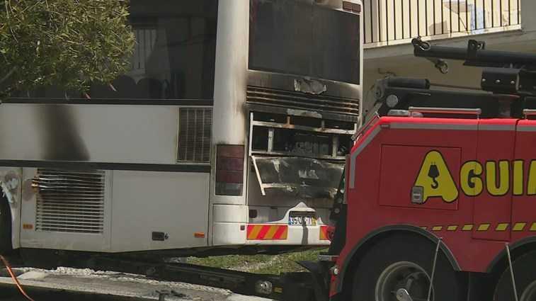 Jornal Campeão: Soure: Incêndio num autocarro que transportava 25 crianças