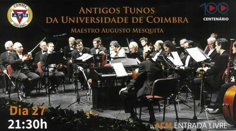 Jornal Campeão: Concerto dos Antigos Tunos da UC celebra 100 anos de ACM