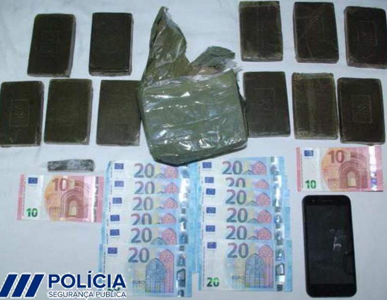 Jornal Campeão: Dois detidos com 5 500 doses de haxixe na Figueira da Foz