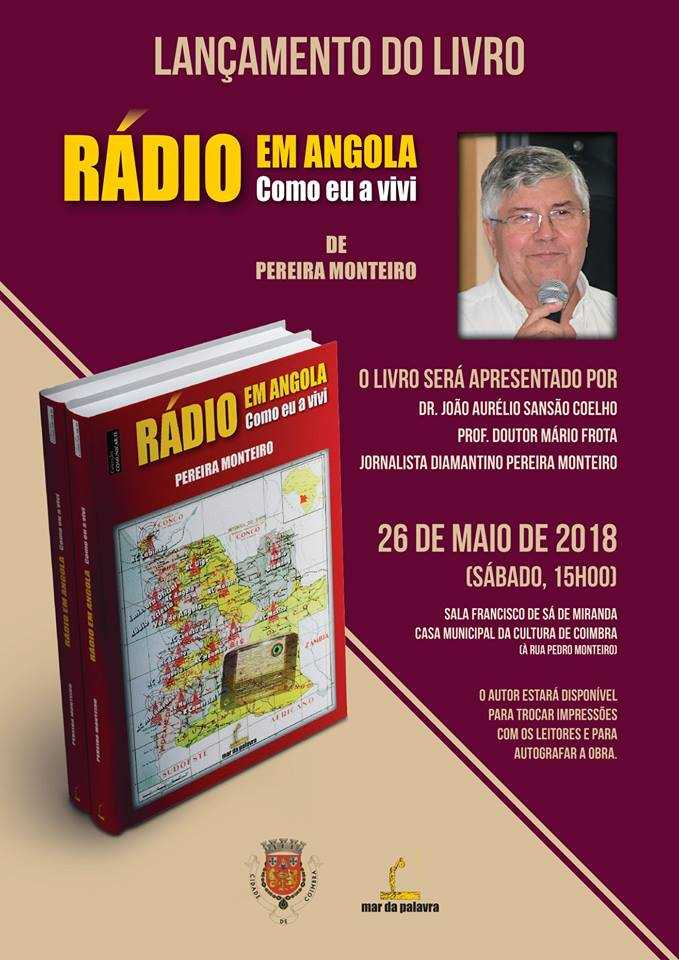 Jornal Campeão: Coimbra: Livro revive memórias da rádio em Angola