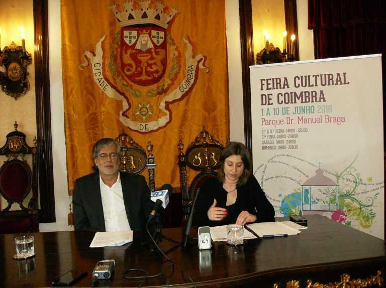 """Jornal Campeão: """"Feira Cultural"""" é uma aposta na valorização de Coimbra"""
