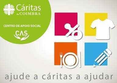 Jornal Campeão: Cáritas de Coimbra faz face a carências emergentes com recolha de bens