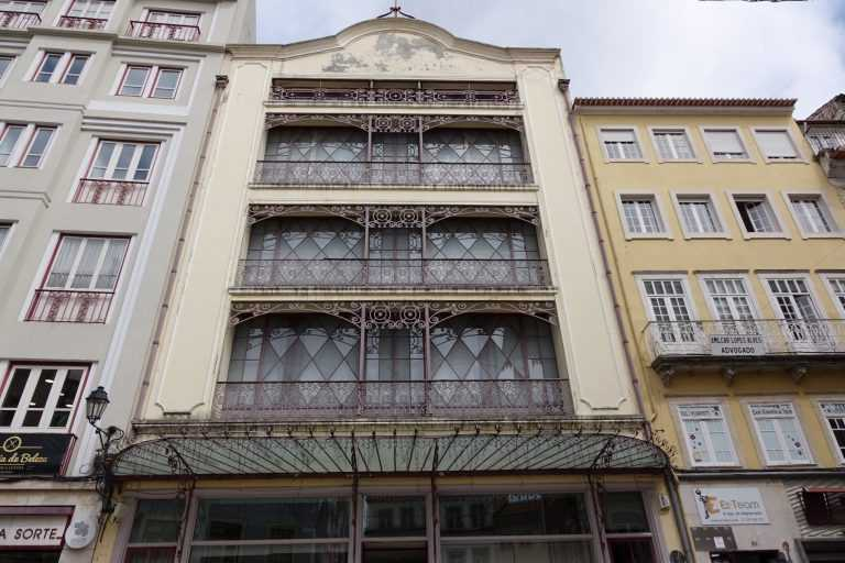 Jornal Campeão: Coimbra: Edifício Chiado sujeito a restauro