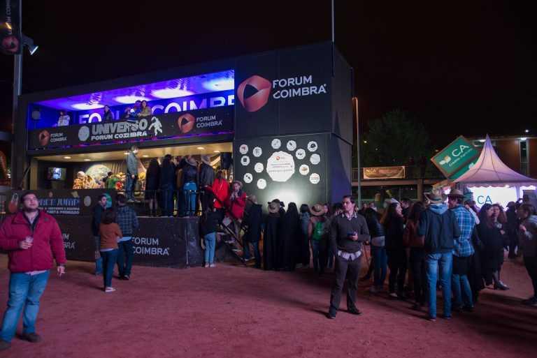Jornal Campeão: Forum Coimbra deu outro encanto à Queima das Fitas