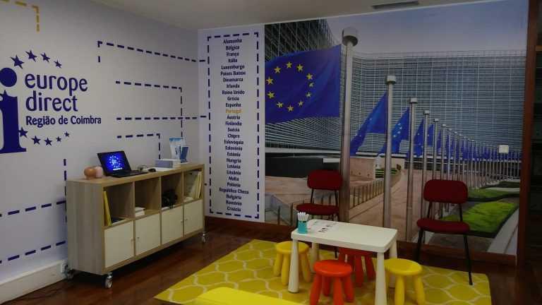Jornal Campeão: Europe Direct Região de Coimbra promove webinar sobre oportunidades para os jovens