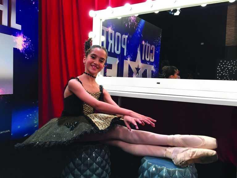 Jornal Campeão: Jovem bailarina de Coimbra na final do 'Got Talent' da RTP