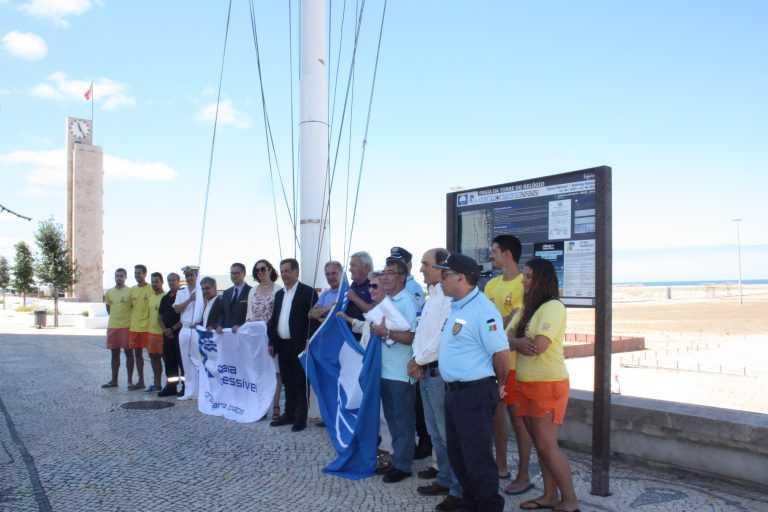 Jornal Campeão: Figueira da Foz hasteou Bandeira Azul em cinco praias