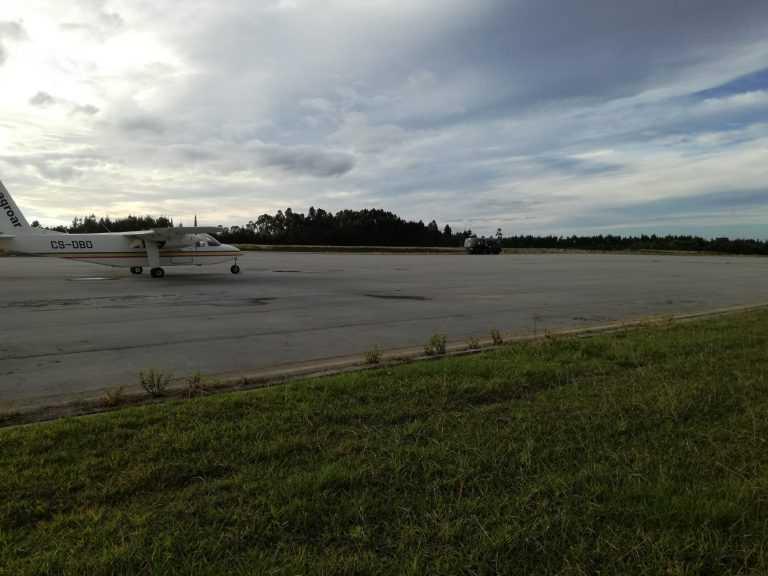 Jornal Campeão: Aeródromo Bissaya Barreto com testes em segurança aeronáutica