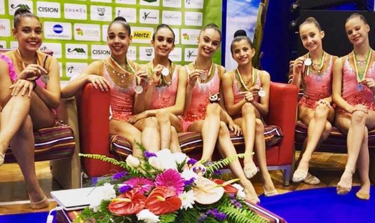 Jornal Campeão: Equipa de ginástica do Centro Norton de Matos é vice-campeã nacional