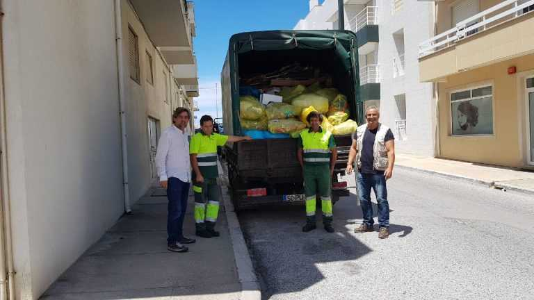 Jornal Campeão: Mira: Resíduos para reciclagem recolhidos porta a porta