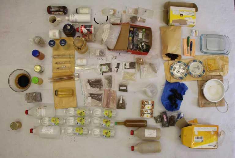Jornal Campeão: Produção artesanal de estupefacientes químicos desmantelada pela PJ